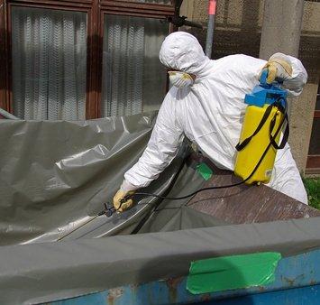 Asbestzement fachgerechte Entsorgung