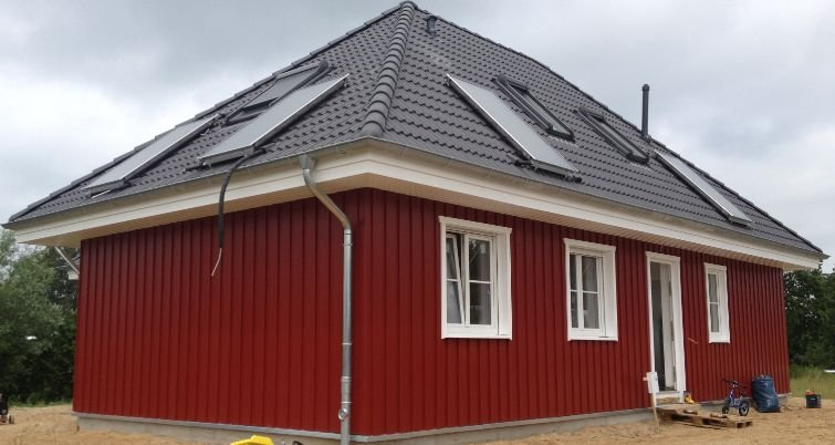 Schwedenhaus im Holzrahmenbau