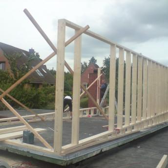 Wohnhauserweiterung Holzbau