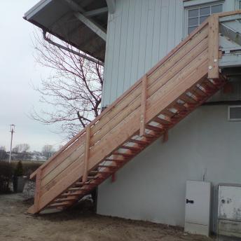Treppe Vereinsheim