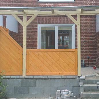 Terrassenüberdachung Bsp. 1