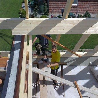 Dachstuhl Bild 2