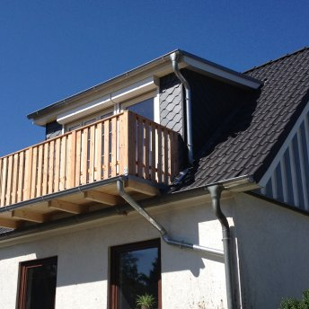 Bau eines Balkons
