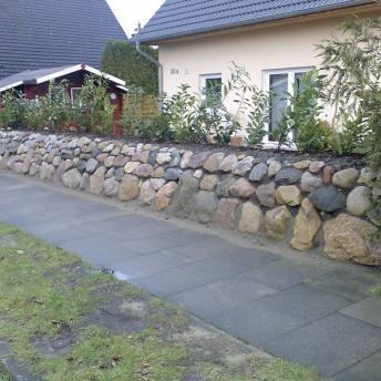 Friesenwall vor dem Haus