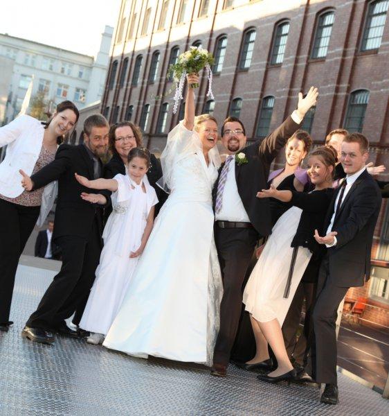 Hochzeitsjubel
