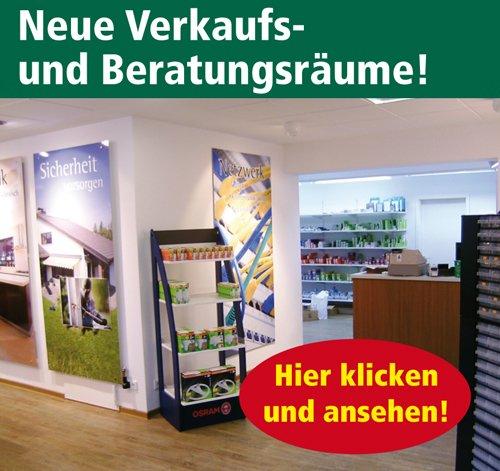 Elektro Specht - Unsere Verkaufsräume