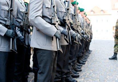 Umziehen ist für die Soldaten/innen kein Ausnahmefall...