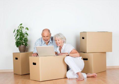 Auch für Senioren ist es eine Große Hilfe, wenn man sich im neuen Heim schnell wieder wie zuhause fühlen kann.