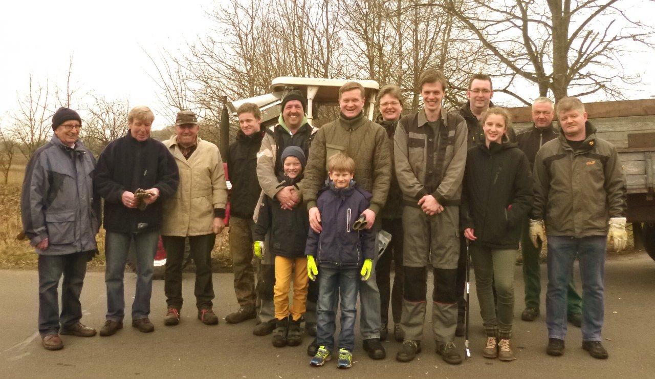 2016 Aktion Sauberes Dorf: Treffpunkt am Kamp