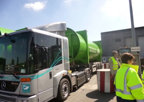 Transporter zur TEV