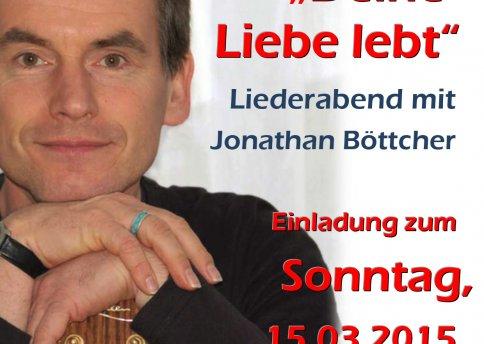Jonathan Böttcher am 15. März 2015 in Kiel