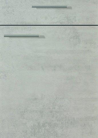 H10065799 beton perlgrau Melaminharzbeschichtung mit Dickkante