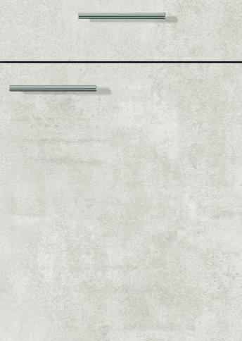 H10066599 beton weißgrau, Trägerplatte melaminharzbeschichtet mit umlaufender Dickkante