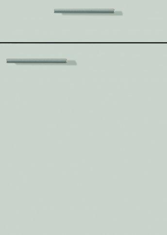 H28066399 steingrau matt, Lacklaminat, MDF-Trägerplatte mit umlaufender Dickkante, Rückseite weiß