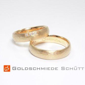 1. Mein Lieblingstrauring Goldschmiede Schuett