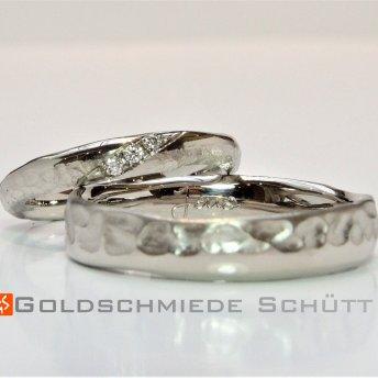 5. Mein Lieblingsring Goldschmiede Schuett 585 Weissgold Brillanten sitw