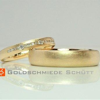 8. Mein Lieblingstrauring Goldschmiede Schuett 750 GelbgoldWarm