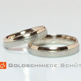 11. Eure Lieblingstrauringe Goldschmiede Schuett 585 Rose Weissgold Naturweiss