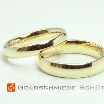 12. Eure Lieblingstrauringe Goldschmiede Schuett 585 Gelbgold...