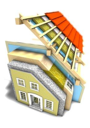 Wärmeschutz Aussenwand Haus Systemansicht