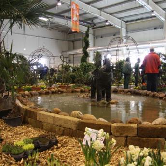 Ausstellung Gartenträume Holstenhalle