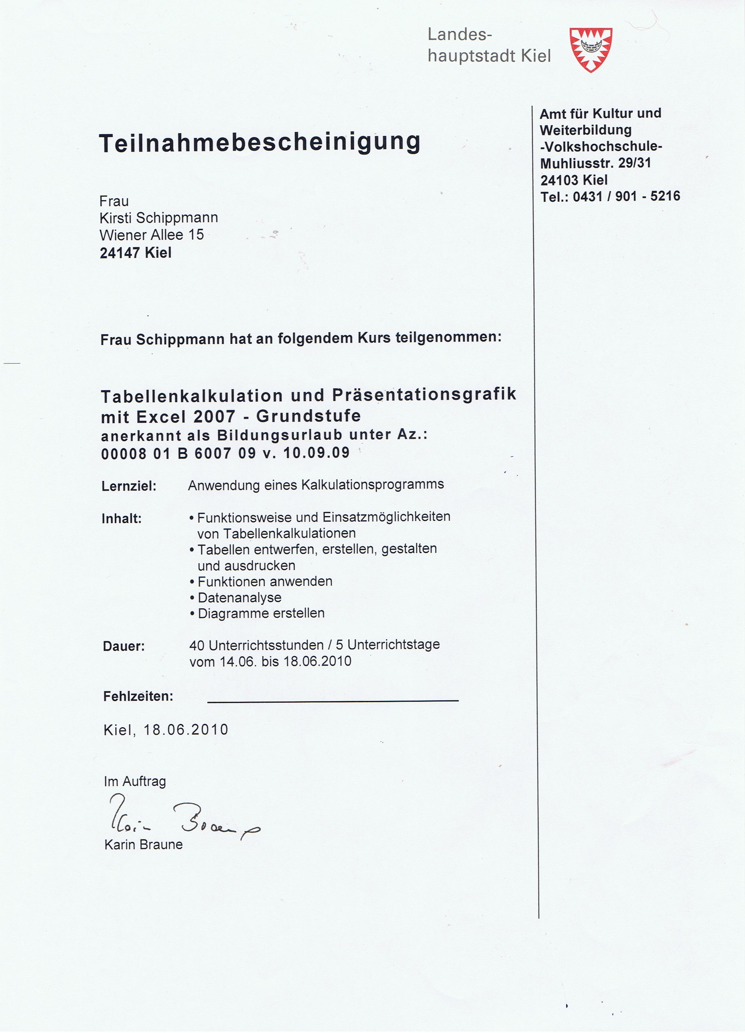 Schön Kurs Planungsvorlage Fotos - Entry Level Resume Vorlagen ...