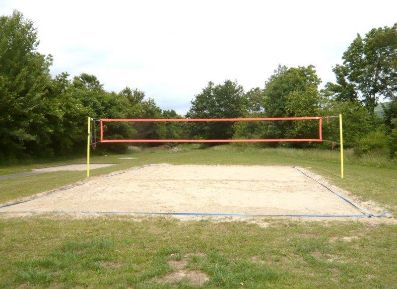 Beach-Volleyballanlage der SGP