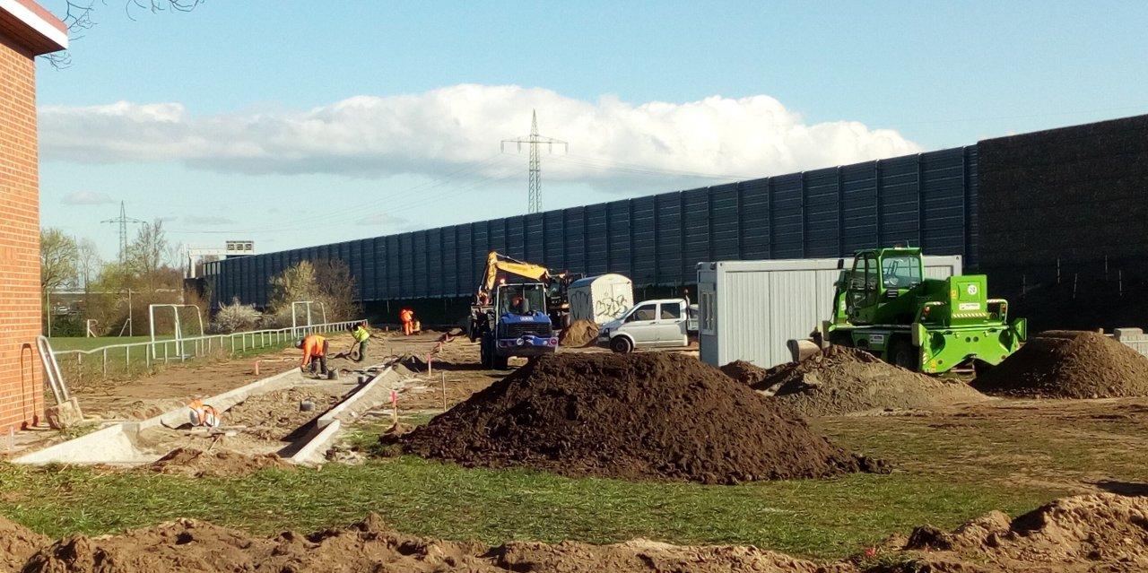 2019 Bau Sprunggrube