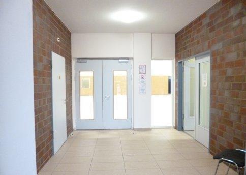 Haupteingang Halle