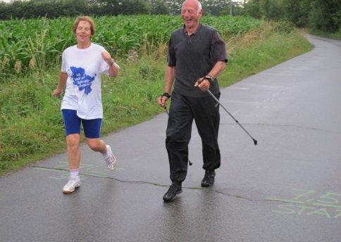 Nordic Walking Schlußphase