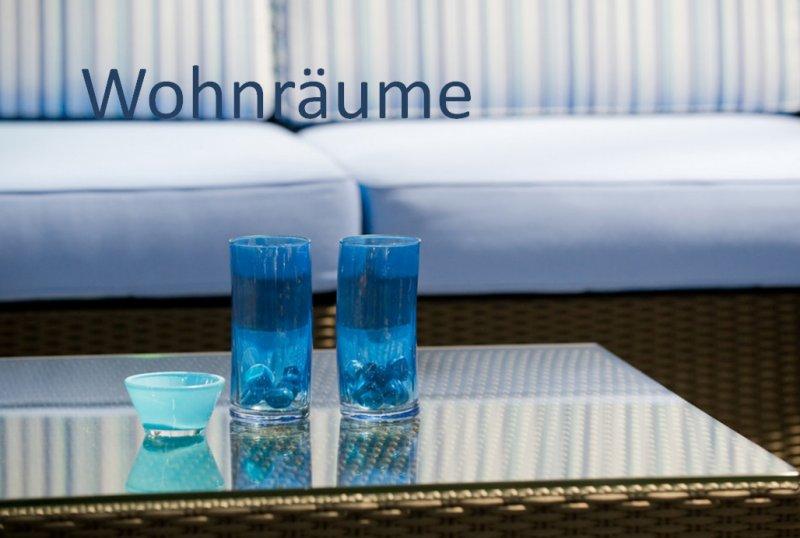 Wohnräume mit Glas