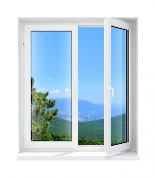 Kunststoffrahmen Fenster
