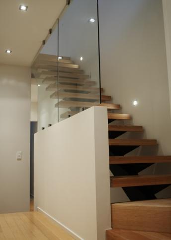 Treppenschutzgeländer Glas Typ 2