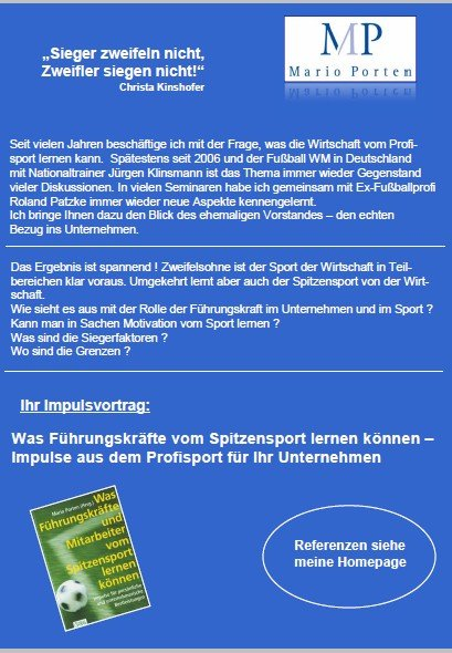 Sportvortrag