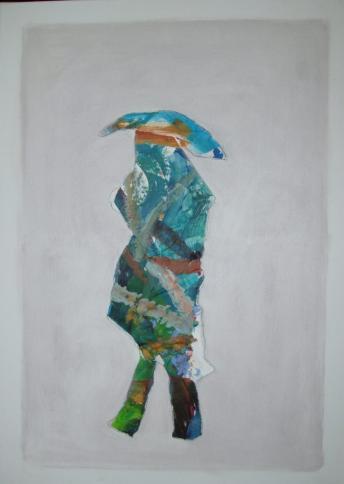 "Renate Basten ""Polaroid Regenspaziergang"""