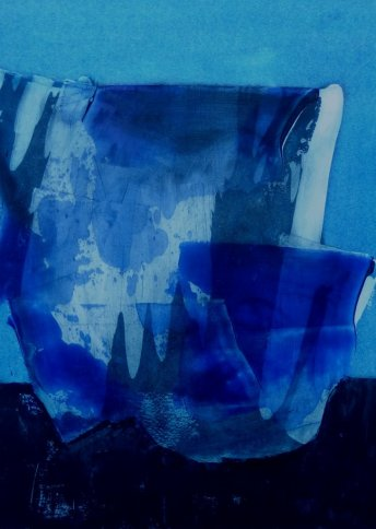 "Renate Basten   ""rapsody in blue 1"""