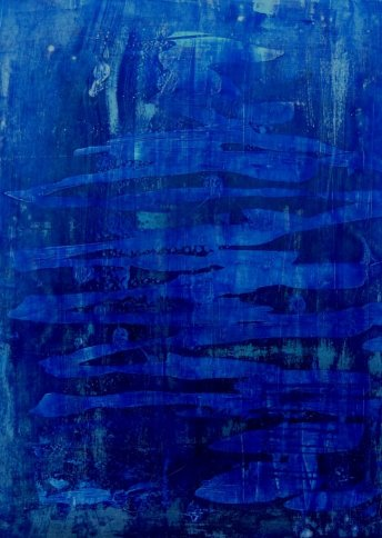 "Renate Basten   ""rapsody in blue 3"""