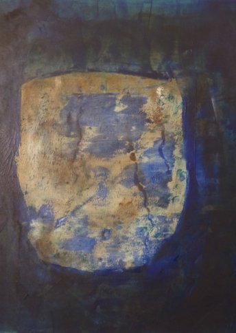 "Renate Basten ""small blue 14"""
