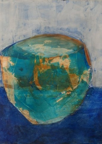 "Renate Basten ""small blue 17"""
