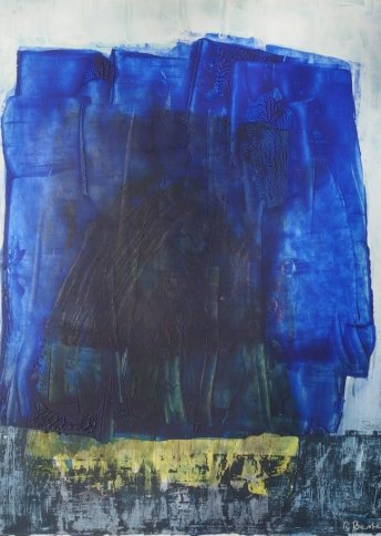"Renate Basten ""small blue 7"""