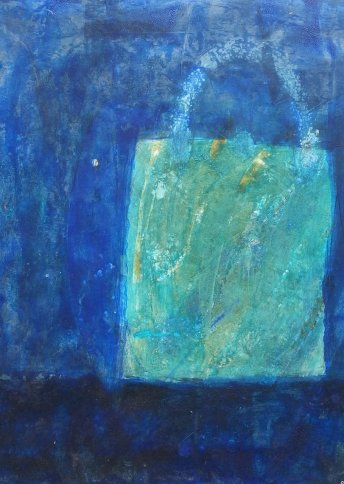"Renate Basten ""small blue 21"""
