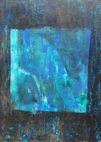 "Renate Basten ""small blue 27"""