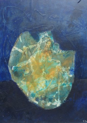 "Renate Basten   ""small blue 20"""