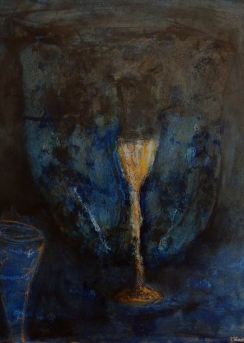 "Renate Basten   ""small blue 15"""