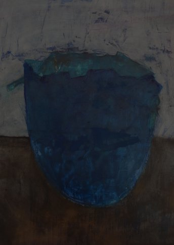 "Renate Basten   ""small blue 24"""