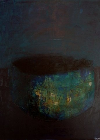 "Renate Basten   ""small blue 19"""