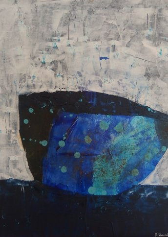 "Renate Basten   ""small blue 26"""