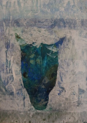 "Renate Basten   ""small blue 23"""
